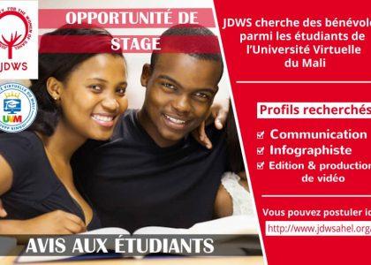 Avis aux étudiants de l'Université Virtuelle du Mali (UVM) !
