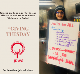 """Fundraising/Levée de fonds """"Giving Tuesday"""" 01 Decembre 2020"""
