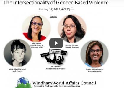 L'intersectionnalité de la violence basée sur le genre